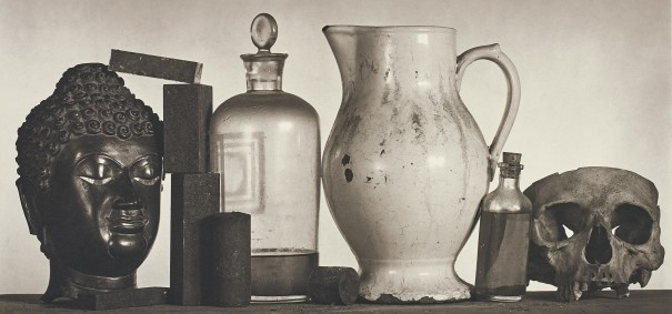 Still Life with Skull, Pitcher and Medicine Bottle, New York