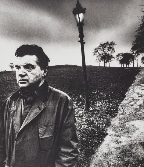 Francis Bacon walking on Primrose Hill