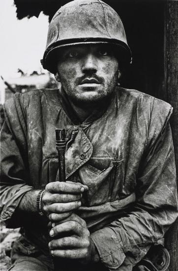 Shell-shocked US Marine, The Battle of Hue