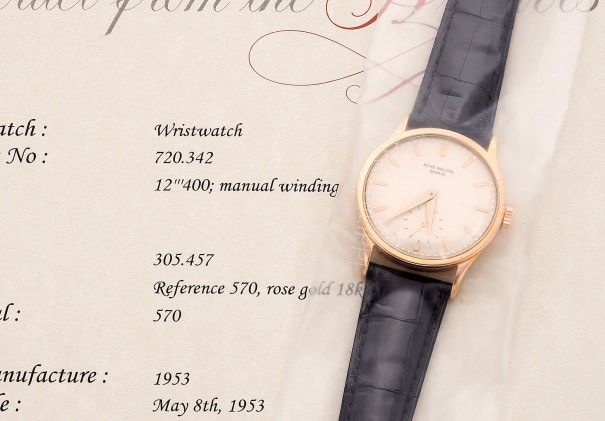 A very fine and attractive pink gold wristwatch with small seconds
