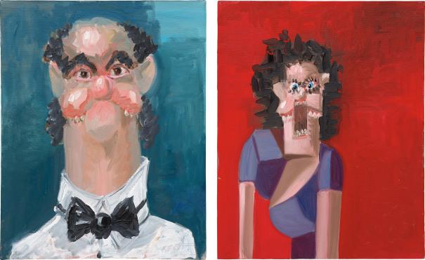 Two Works: (i) Jean Louis; (ii) Jean Louis' Wife