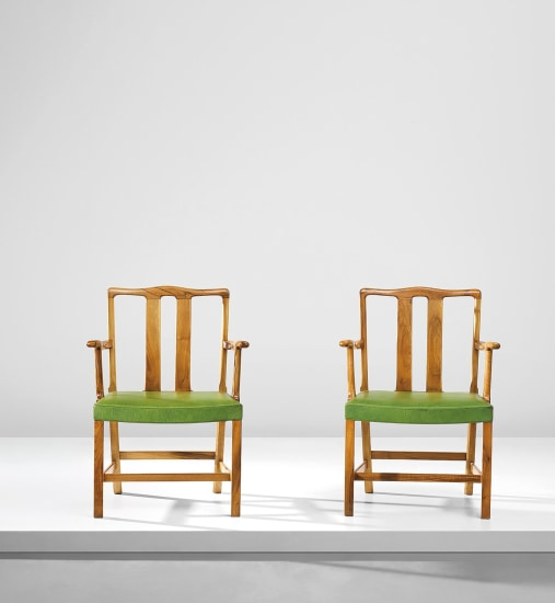 Pair of early armchairs, model no. 1764