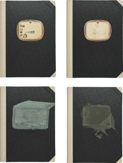 "4 Bücher aus: ""Projekt Westmensch"" (4 Books, from: ""Project West Man"")"