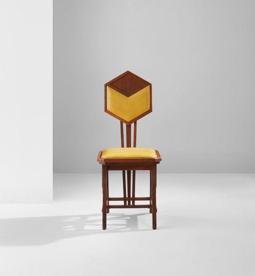 Frank Lloyd Wright Pea Side Chair Circa 1916 Phillips
