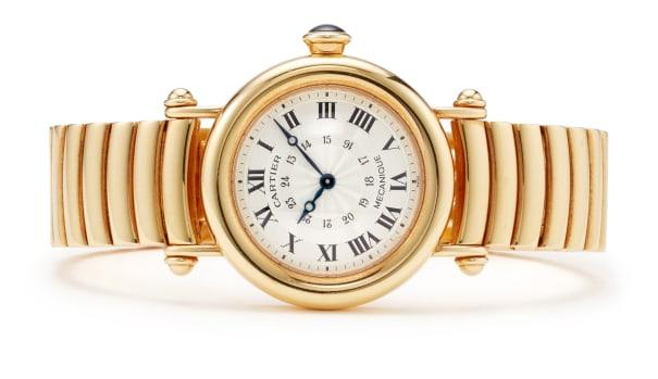 A Gold 'Diabolo' Wristwatch