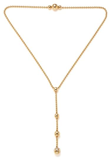 A Diamond and Gold 'Draperie de Decollete' Necklace