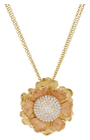 A Diamond and Gold 'Lirika' Necklace