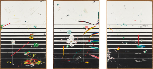 Triptych: Untitled (Ultra Deep Fried #7 #8 #6)