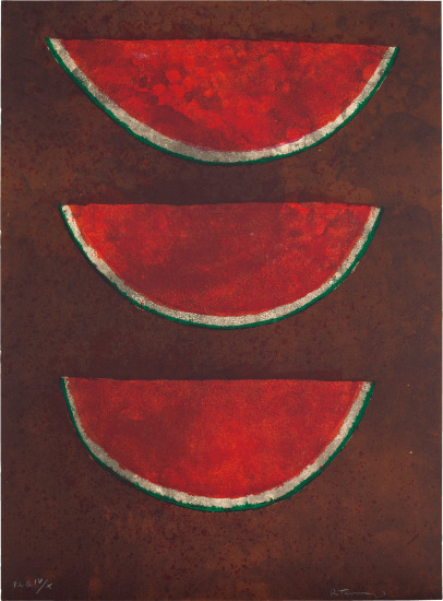 Sandías (Watermelons), from Rufino Tamayo 15 Lithografías (15 Lithographs)