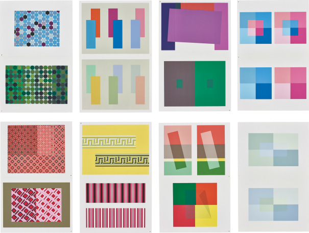 Josef Albers Interaction Of Color 1973 Phillips