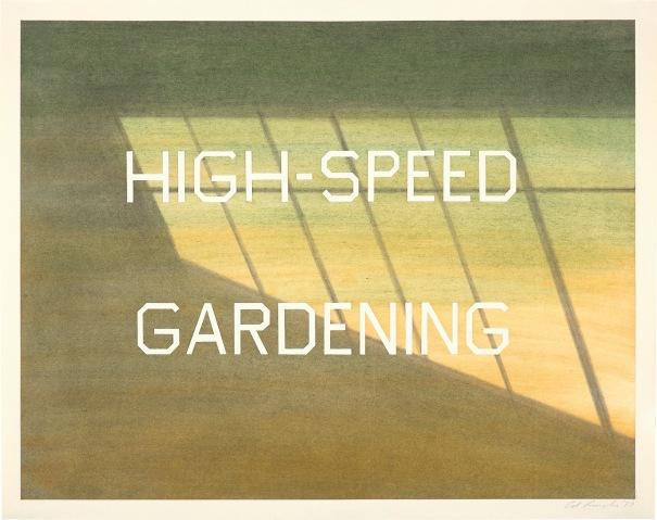 High-Speed Gardening