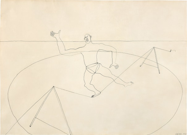 Untitled (Man on a Tightrope)