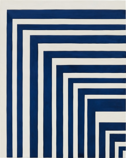 Blue and White Painting