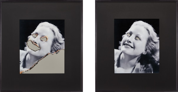 Self Portrait of You and Me (Joan Crawford Diptych)