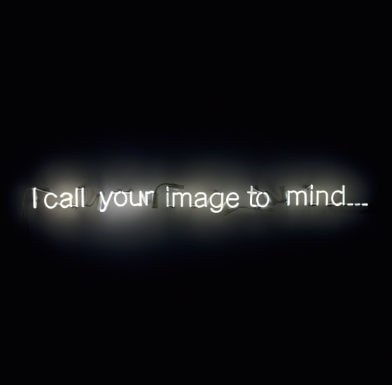 I call your image to mind…