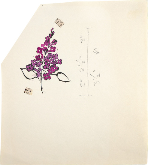 Still Life (Purple Bunch)