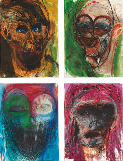 Four works: (i-iv) Untitled