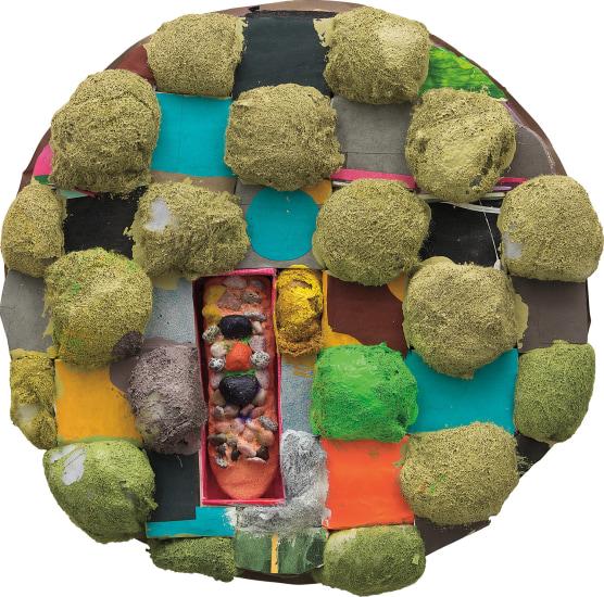 Tondo Puff (green)