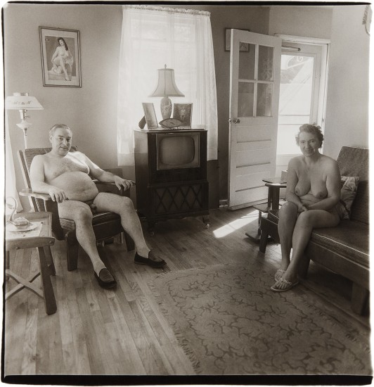 Old Couple Nudists