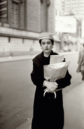 Woman with parcels, N.Y.C.