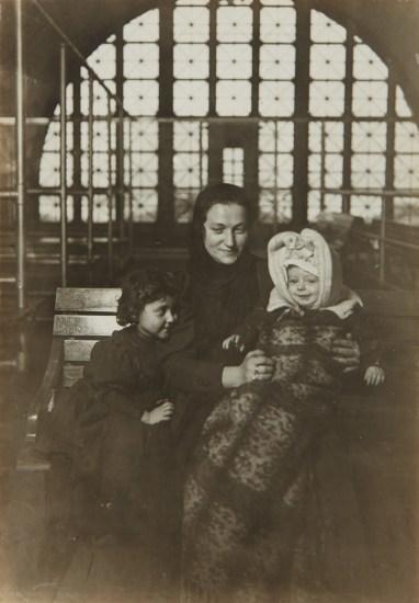 A Tenement Madonna, Ellis Island