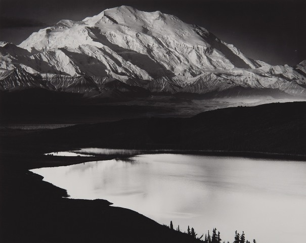 Mount McKinley and Wonder Lake, Mount McKinley National Park, Alaska
