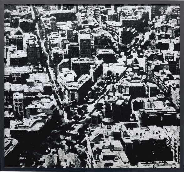 Townscape Madrid, after Gerhardt Richter from Pictures of Pigment