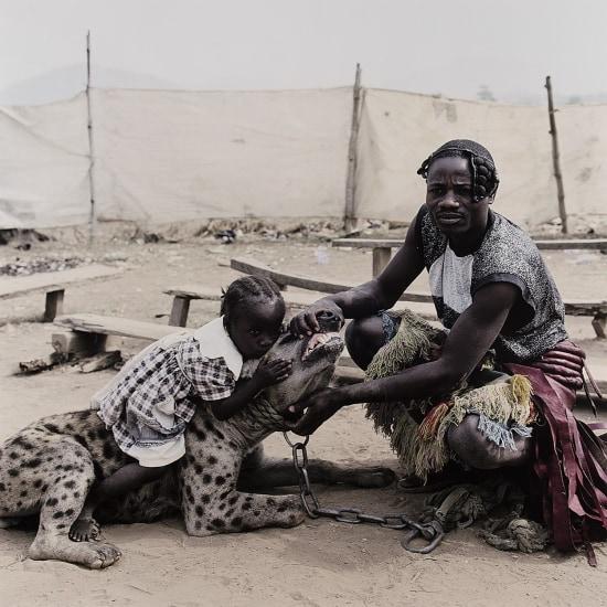 Mummy Ahmadu and Mallam Mantari Lamal with Mainasara, Abuja, Nigeria from The Hyena and Other Men