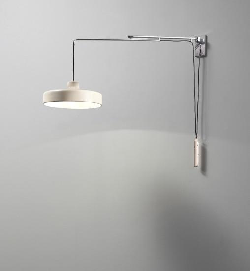 Extendable wall light, model no. 194n