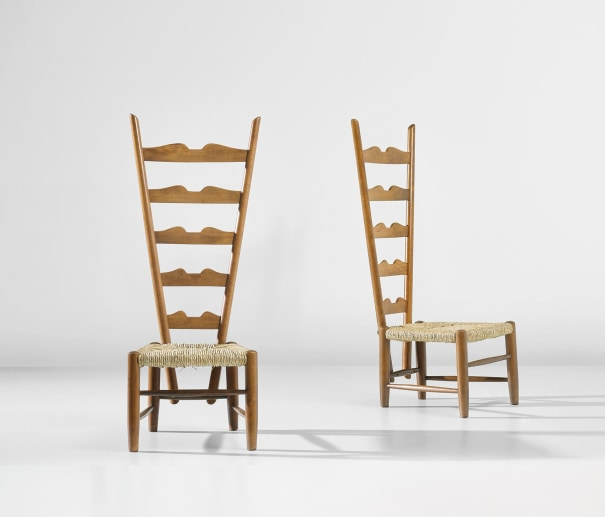 Pair of fireplace chairs