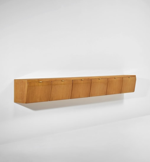 Unique wall-mounted cabinet