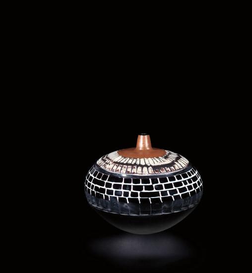 Unique 'Notturno Veneziano' vase