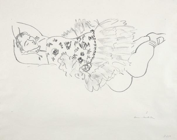 Danseuse endorme (Sleeping Dancer)