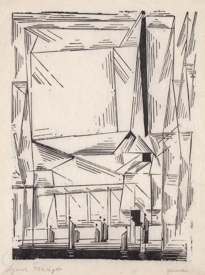 Gelmeroda, from Meistermappe des Staatlichen Bauhauses (Masters' Portfolio of the Staatliches Bauhaus)
