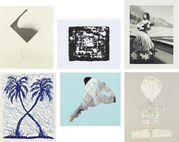 White Columns Print Portfolio