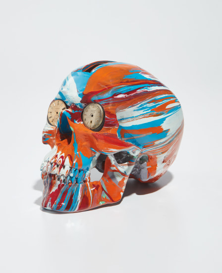 The Hours Spin Skull