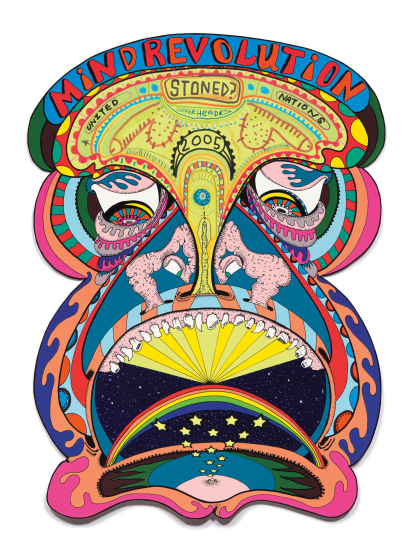 Mind Revolution, from the Exit Art portfolio Tantra