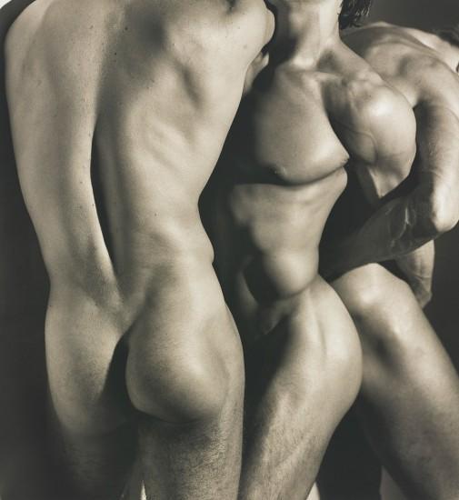 Three Male Torsos