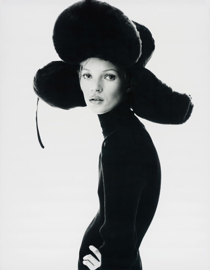 Girl with Hat (Kate Moss)