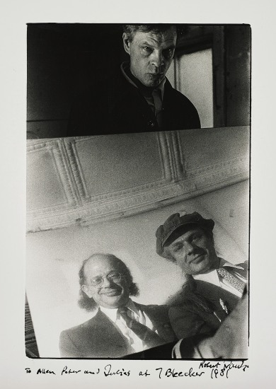 Allen Ginsberg with Peter and Julius Orlovsky