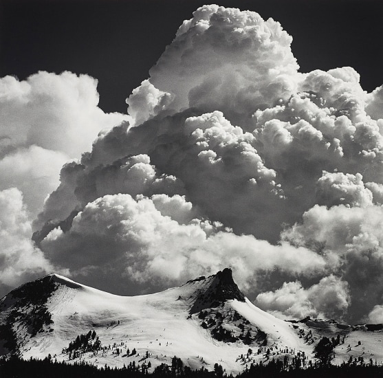 Thunderclouds, Unicorn Peak, Yosemite National Park
