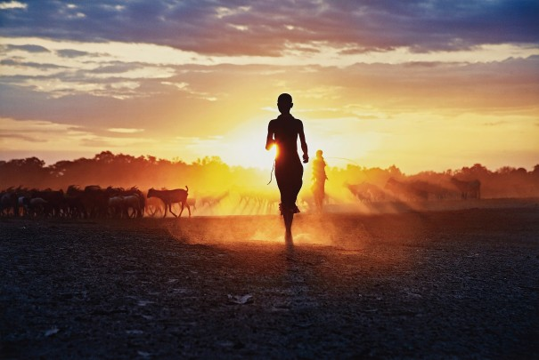 Running at Sunset, Ethiopia