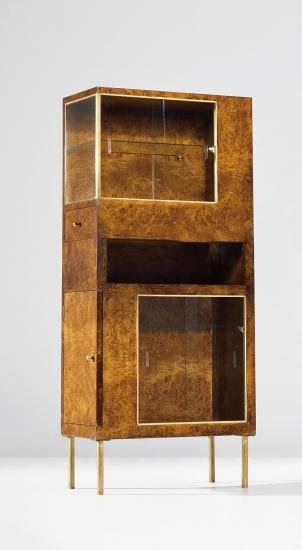 Rare cabinet, designed for the 'Sala dei gabinetti di prova' at the IV Monza Triennale
