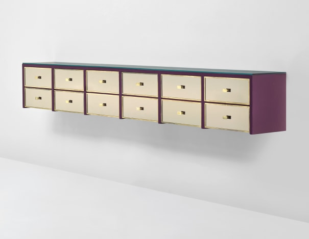 Wall-mounted chest of drawers