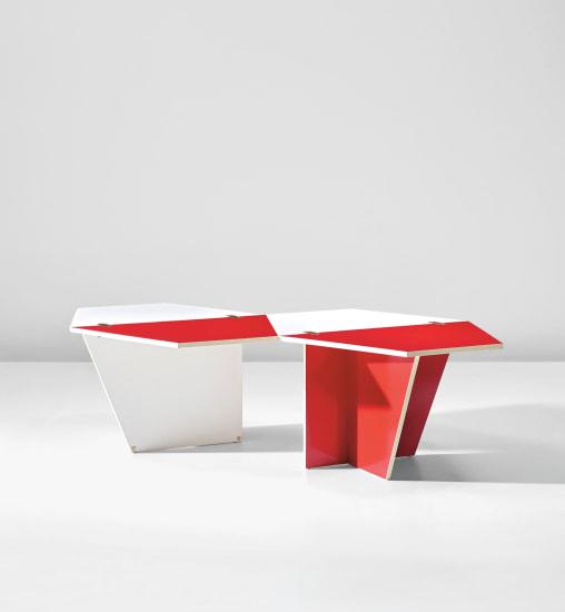Unique prototype folding coffee table