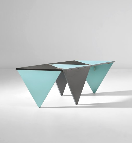 Unique prototype folding coffee table