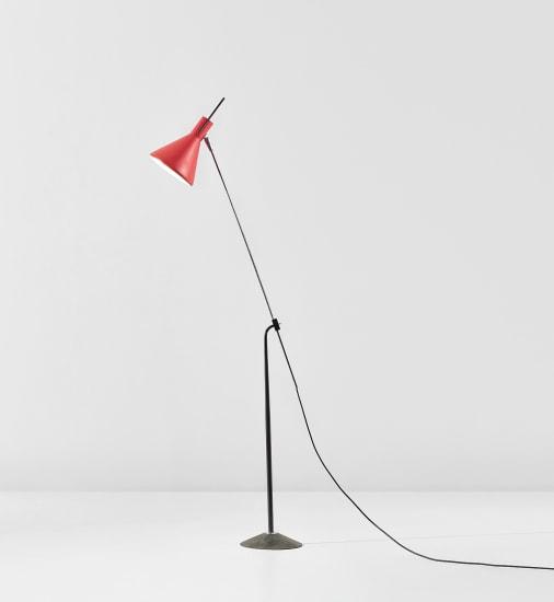 Adjustable standard lamp, model no. 4033