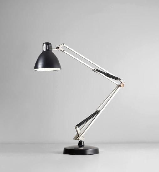 Prototype 'Moloch' adjustable floor lamp