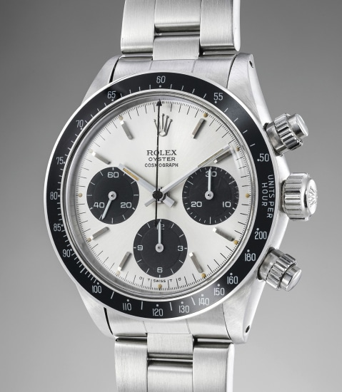 A fine, extremely rare and exceptionally well preserved stainless steel chronograph wristwatch with bracelet and box, made for the Peruvian Air Force