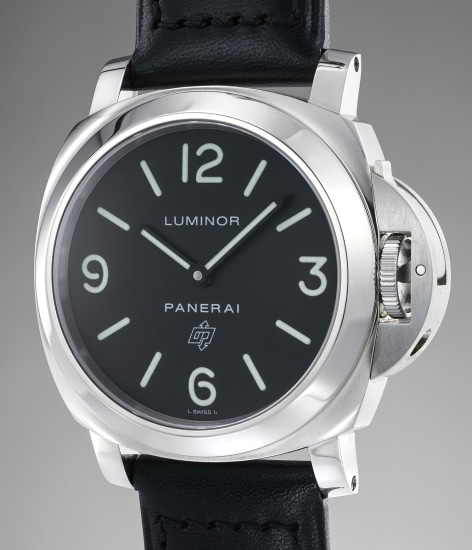 A rare limited edition stainless steel wristwatch, numbered 170 of a limited edition of 500 pieces
